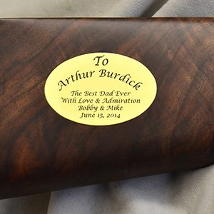 Golden Boy – (H004) .22LR, .22 MAG, .17 HMR with Inlaid Engraved Oval w/wo Special Serial No.